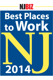 NJBIZ Best Places to Work 2014
