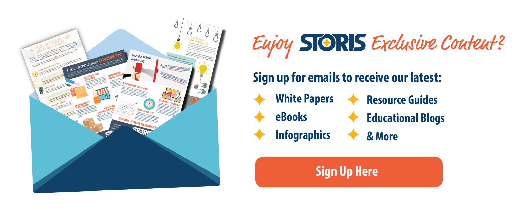 STORIS Email Opt In