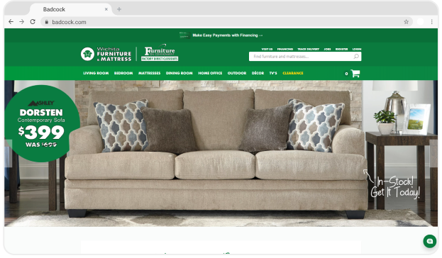 Wichita Furniture Homepage