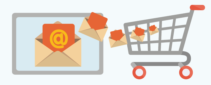 Email a Digital Shopping Cart
